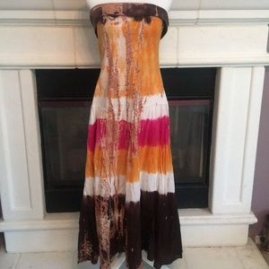 Perfectly boho gorgeous and comfy unique dress